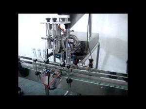 màquina automàtica d'ompliment de rentat a mà líquid doble capçal doble