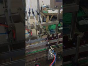 Màquina de farciment líquid de 4 ampolles petites