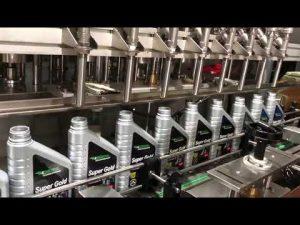 Línia completa d'equips per omplir oli lubricant pistó lubricant automàtic