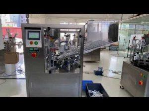 màquina automàtica de segellat de farcit de tubs de plàstic automàtic per a pasta de dents de crema manual