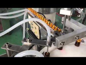 Màquina automàtica de got de gota de 5-30 ml de flascó de vidre per a ampolla petita i màquina de tapatge de líquid