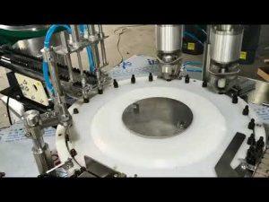 màquina automàtica per a omplir oli essencial complet de petit volum
