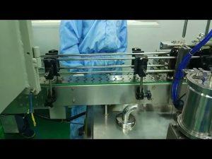 Màquina de cargol i cargol doble de 30ml a 100ml per ampolla rodona