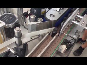 Etiquetadora adhesiva automàtica d'ampolles d'ampolles verticals de 3000 bph
