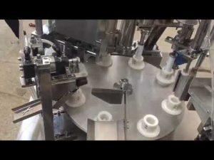 pasta automàtica de plàstic tou, pomada, pasta de dents, màquina de segellat per omplir tubs