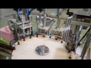 màquina automàtica de 10 ml de flascó automàtic i líquid per omplir taps