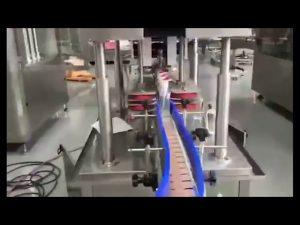 màquina automàtica de farciment de pistons de desinfectador de mà amb gel de rentat automàtic