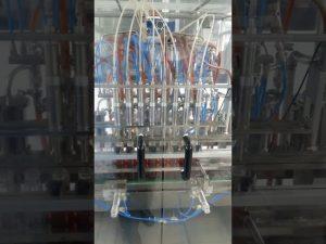màquina d'omplir ampolla d'oli per a mascotes líquids volumètrics