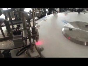 màquina automàtica per omplir ampolles de pintura d'ungles de 30-50 bpm
