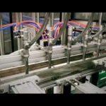 detergent lineal automàtic de pistons, xampú, màquina embotelladora de líquid viscós amb oli lubricant