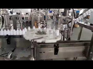 cosmètica màquina d'omplir ampolla de plàstic de cosmètica