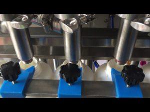 Preu màquina automàtica d'ampolla de xampú líquid pistó complet automàtic