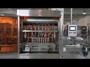 màquina automàtica d'ompliment de salsa de tomàquet completa