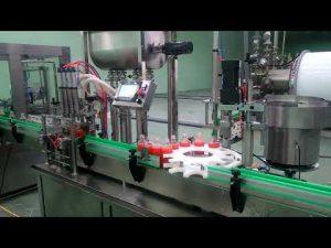 Màquina automàtica per omplir embussos i taps de 4 caps