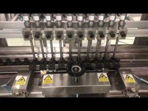màquina de farciment lineal de crema alcohòlica líquida, gerro de mel farcidor d'oli de botella petita