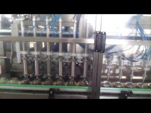 màquina de segellat automàtica d'ompliment de iogurt de pot de vidre de mel