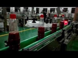 Màquina automàtica d'ompliment d'ampolles d'alta velocitat per a tomate, confitura, salsa