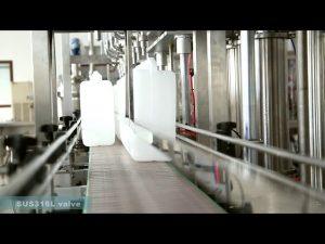 màquina completa d'etiquetatge automàtic d'ompliment de l'oli de lubricant