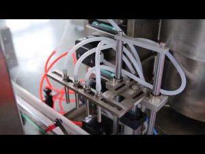 Venda completa de màquines d'ompliment de oli de cànem de cànem cbd de vidre complet