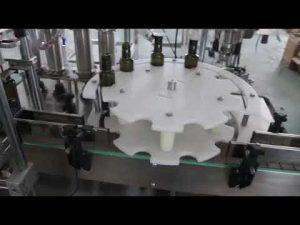 màquina automàtica per omplir oli d'oliva estàndard de venda calenta