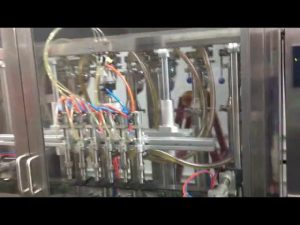 màquina automàtica d'omplir oli d'oliva de botelles de vidre