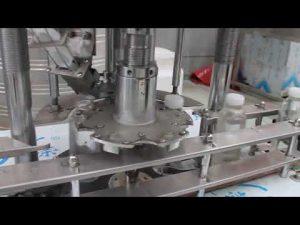màquina automàtica de capçal rotatiu d'ampolla de plàstic d'un sol cap