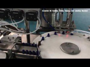màquina d'ompliment de perfums d'ampolla de vidre, farciment de loció cosmètica