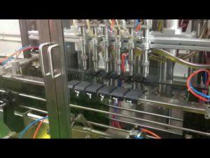 màquina automàtica de farciment d'oli d'oliva de pistó de control plc