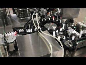 Dispositiu farmacèutic per a omplir gotes d'ulls per a un flascó petit de 20 ml