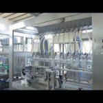 màquina automàtica de fàbrica de flascó de botella d'oli líquid viscós, lineal, automàtic