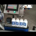 màquina etiquetadora de medicaments rodona